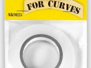 AK-9125 AK INTERACTIVE MASKING TAPE FOR CURVES 6 MM