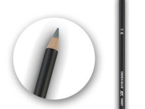 AK10021 AK INTERACTIVE Watercolor Pencil Green Blue