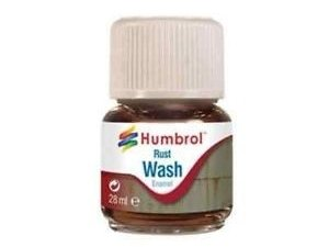AV0210 HUMBROL 28ml Enamel Wash - Rust