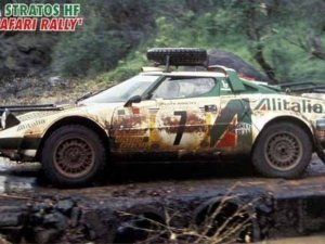 "HA25036 1/24 Lancia Stratos HF ""1977 Safary Rally"" HASEGAWA CR36"
