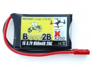 BEEXK01 Beez2b 1S 3,7 V 850 mAh 25C LiPo battery for XK X250 quadcopter