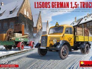 38051 1/35 L1500S German 1,5t Truck MINI ART