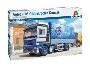 3945 1/24 Volvo F16 Globetrotter Canvas ITALERI