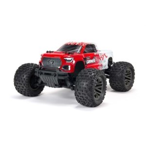 ARA4302V3T2 1/10 GRANITE 4X4 V3 3S BLX Brushless Monster Truck Red
