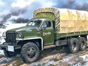 35514 1/35 Studebaker US6 U4 WWII Army Truck ICM